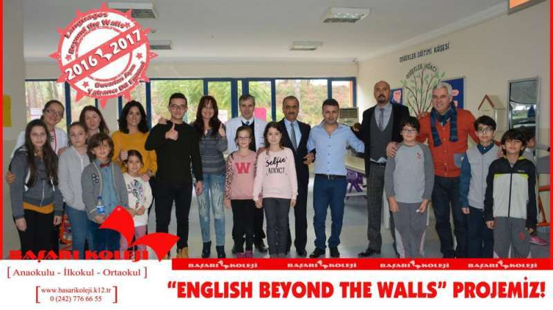 "BAŞARI KOLEJİ'NDE ""ENGLISH BEYOND THE WALLS"" PROJESİ!"